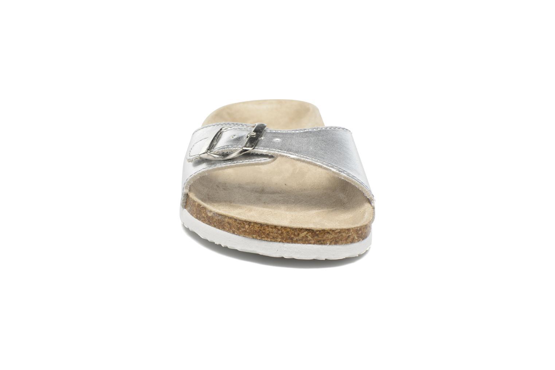 Clogs & Pantoletten I Love Shoes MCALER silber schuhe getragen