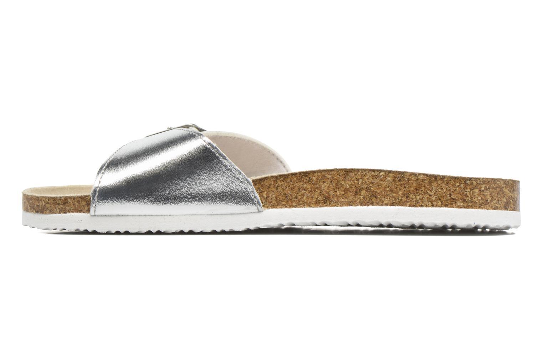 Clogs & Pantoletten I Love Shoes MCALER silber ansicht von vorne