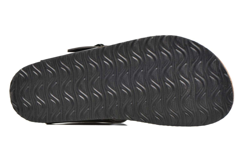 Sandalen I Love Shoes MCOLOS schwarz ansicht von oben