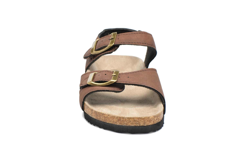 Sandali e scarpe aperte I Love Shoes MCGEE Marrone modello indossato