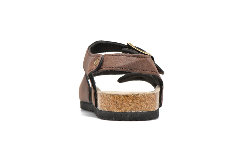 Sandales et nu-pieds I Love Shoes MCGEE Marron vue droite