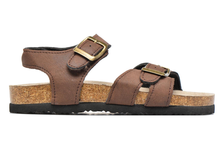 Sandales et nu-pieds I Love Shoes MCGEE Marron vue derrière