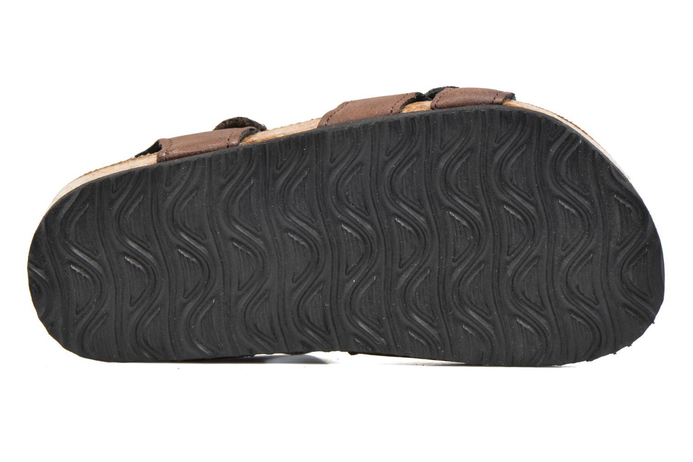 Sandales et nu-pieds I Love Shoes MCGEE Marron vue haut