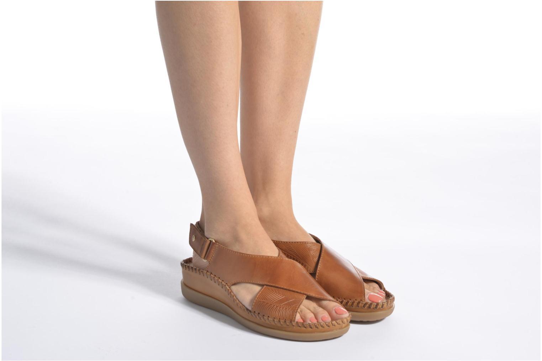 Sandales et nu-pieds Pikolinos Cadaques W8K-0828 Marron vue bas / vue portée sac
