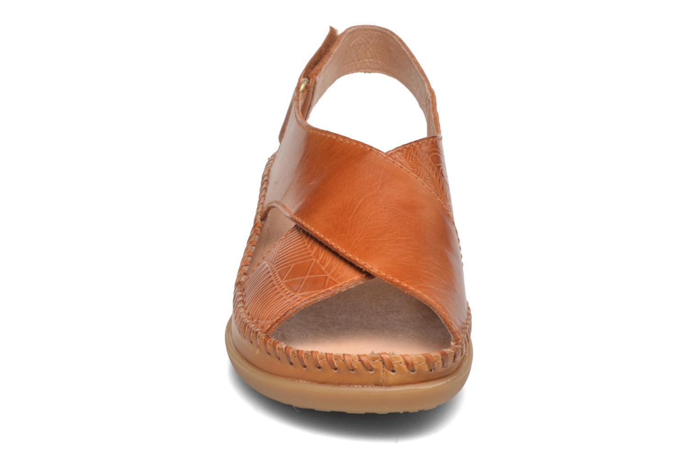 Sandales et nu-pieds Pikolinos Cadaques W8K-0828 Marron vue portées chaussures