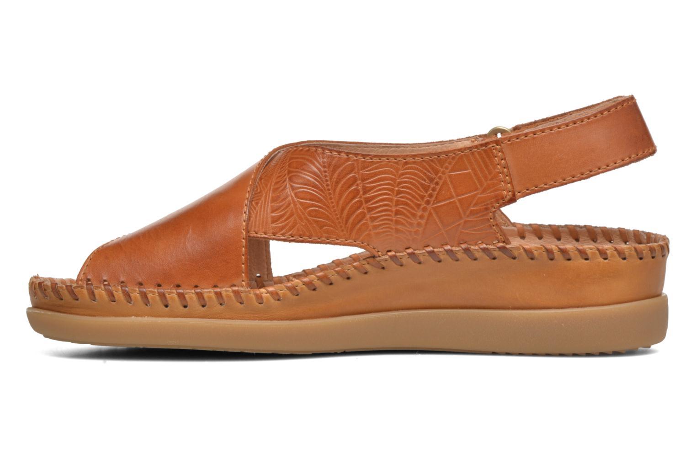 Sandales et nu-pieds Pikolinos Cadaques W8K-0828 Marron vue face