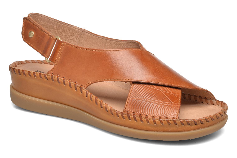 Sandales et nu-pieds Pikolinos Cadaques W8K-0828 Marron vue détail/paire