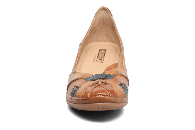 Escarpins Pikolinos Coimbra W7L-5691 Marron vue portées chaussures