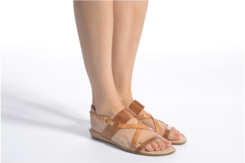 Sandales et nu-pieds Pikolinos Alcudia 816-0924 Marron vue bas / vue portée sac