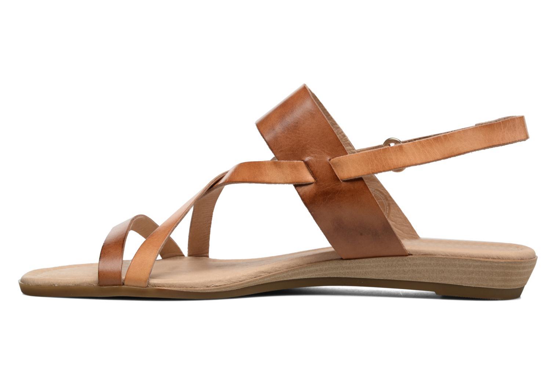 Sandales et nu-pieds Pikolinos Alcudia 816-0924 Marron vue face