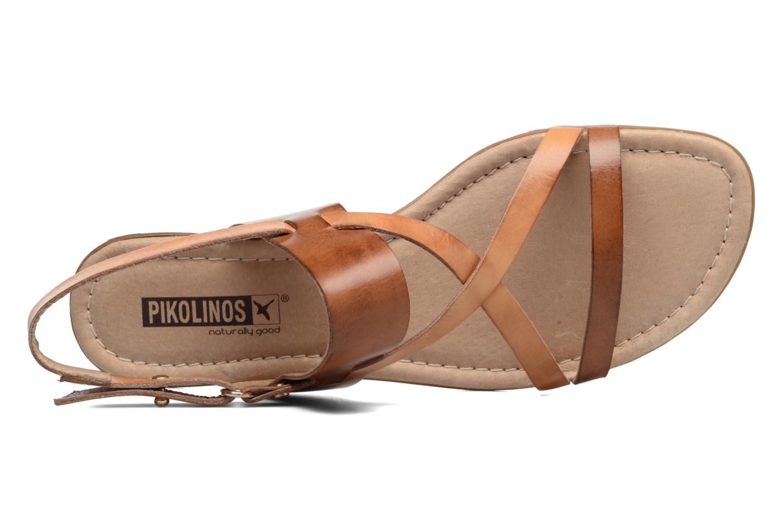 Sandales et nu-pieds Pikolinos Alcudia 816-0924 Marron vue gauche