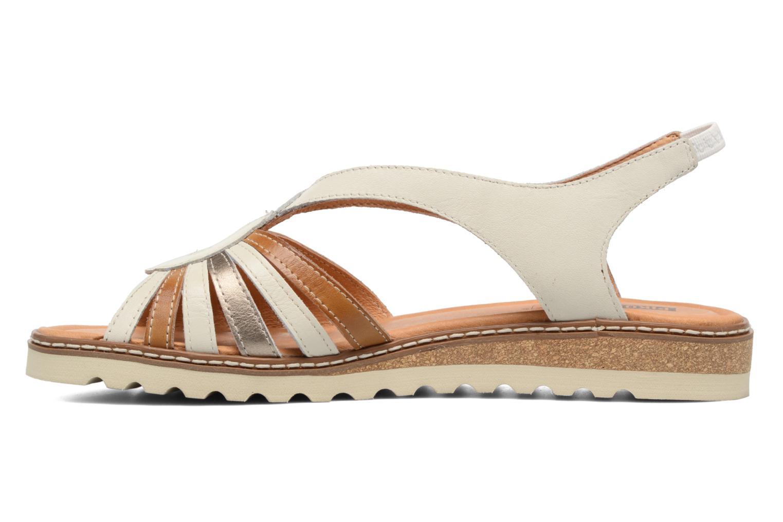 Sandales et nu-pieds Pikolinos Alcudia W1L-0860 Blanc vue face