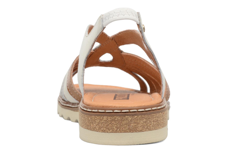 Sandales et nu-pieds Pikolinos Alcudia W1L-0860 Blanc vue droite