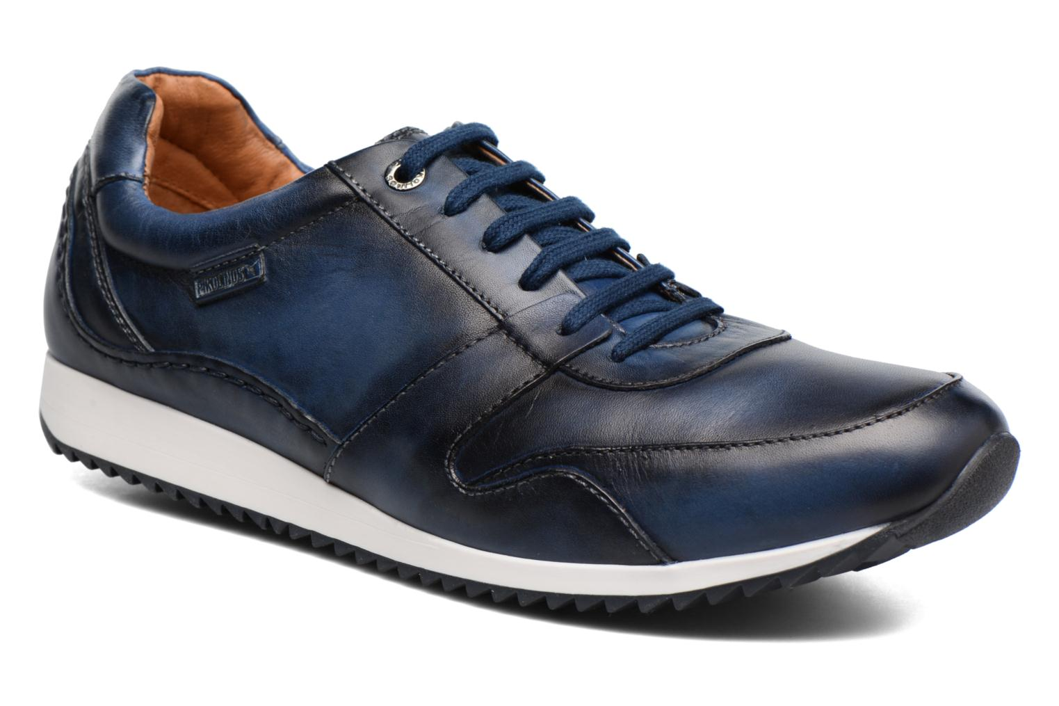 Trainers Pikolinos Liverpool M2A-6059 Blue detailed view/ Pair view