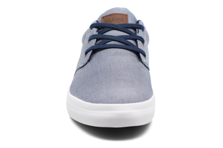 Baskets Globe Willow Bleu vue portées chaussures