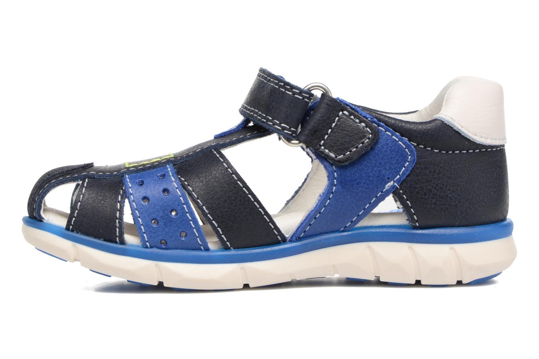 Sandales et nu-pieds Pablosky Alberto Bleu vue face