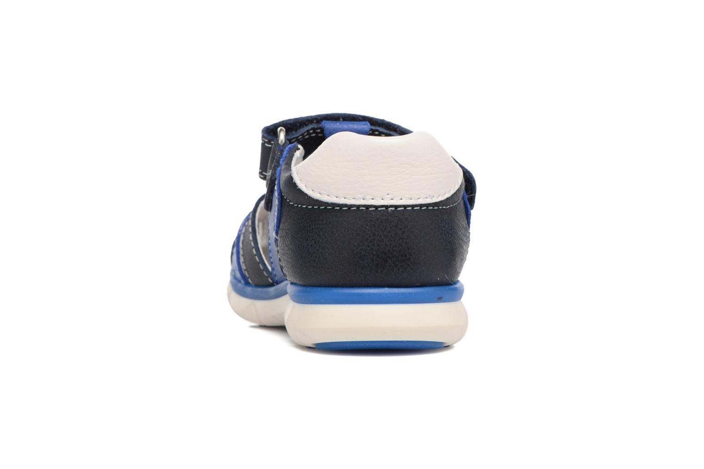 Sandales et nu-pieds Pablosky Alberto Bleu vue droite