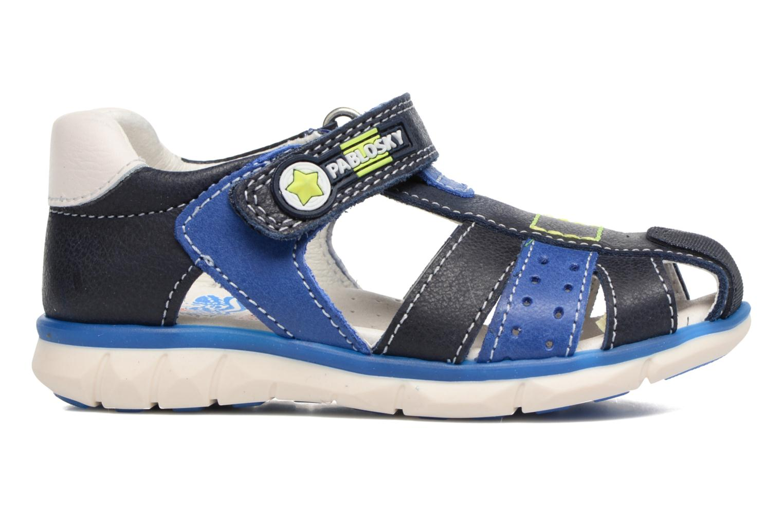 Sandales et nu-pieds Pablosky Alberto Bleu vue derrière