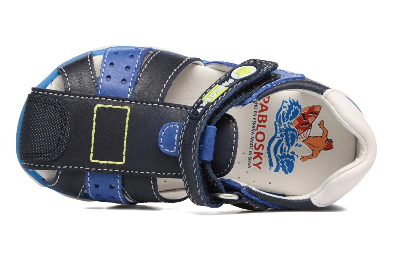 Sandales et nu-pieds Pablosky Alberto Bleu vue gauche