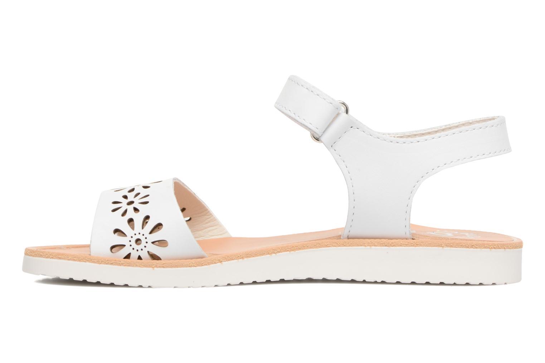 Sandali e scarpe aperte Pablosky Dominica Bianco immagine frontale