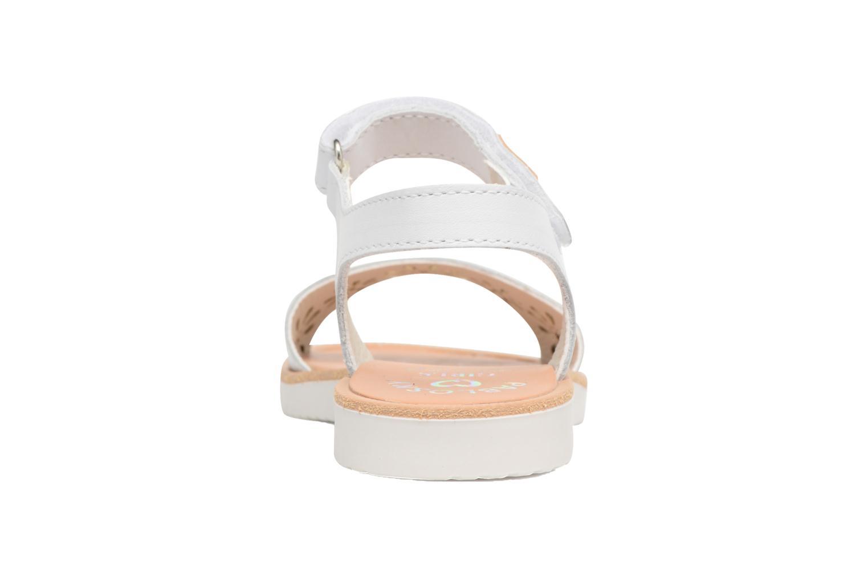 Sandali e scarpe aperte Pablosky Dominica Bianco immagine destra