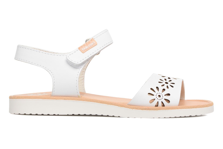 Sandali e scarpe aperte Pablosky Dominica Bianco immagine posteriore