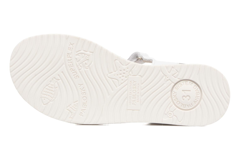 Sandali e scarpe aperte Pablosky Dominica Bianco immagine dall'alto
