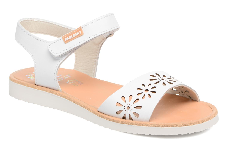 Sandali e scarpe aperte Pablosky Dominica Bianco vedi dettaglio/paio