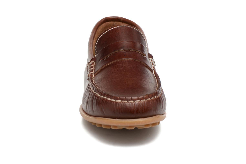 Mocassins Pablosky Cristobal Marron vue portées chaussures