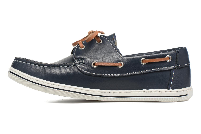 Zapatos con cordones Pablosky Conrado Azul vista de frente