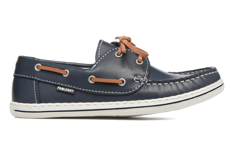 Zapatos con cordones Pablosky Conrado Azul vistra trasera