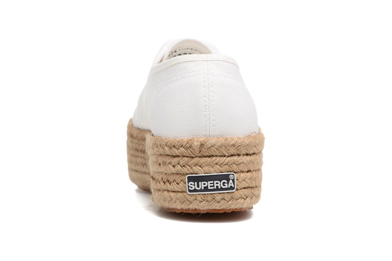 Baskets Superga 2790 Cotropew Blanc vue droite