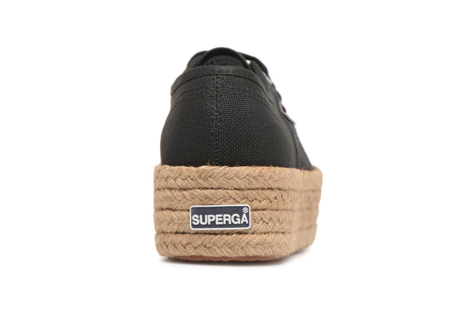 Black Superga 2790 Cotropew (Noir)