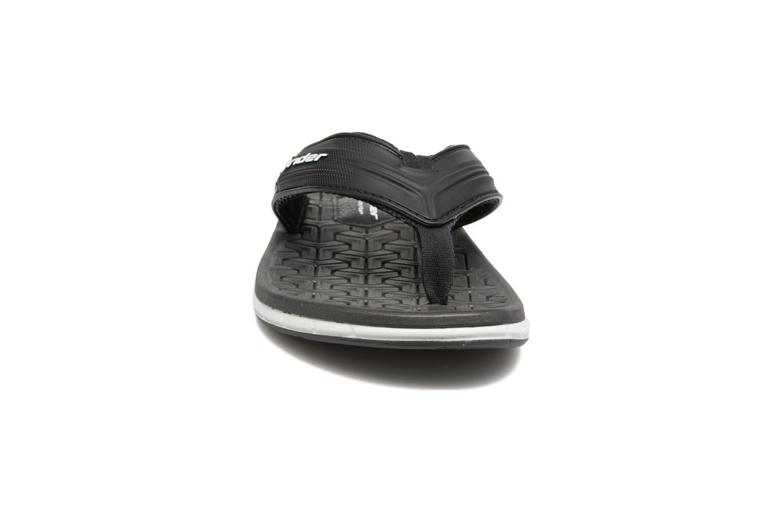 Tongs Rider Next II AD Noir vue portées chaussures
