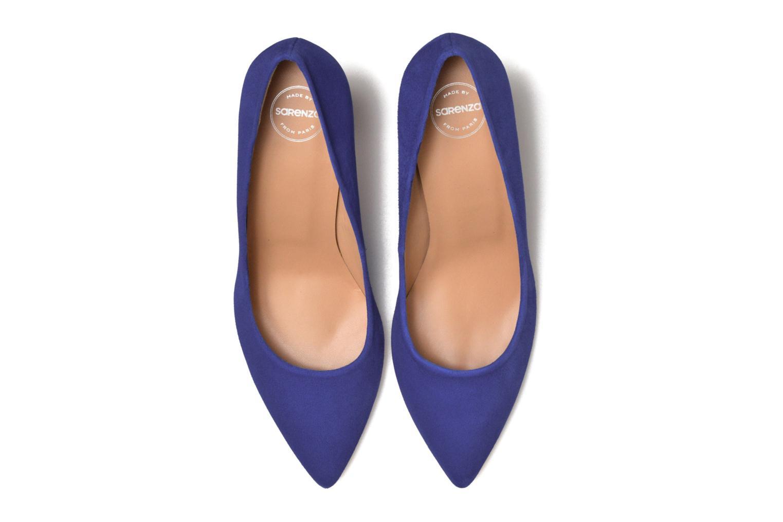 Escarpins Made by SARENZA Donut hut #13 Bleu vue portées chaussures