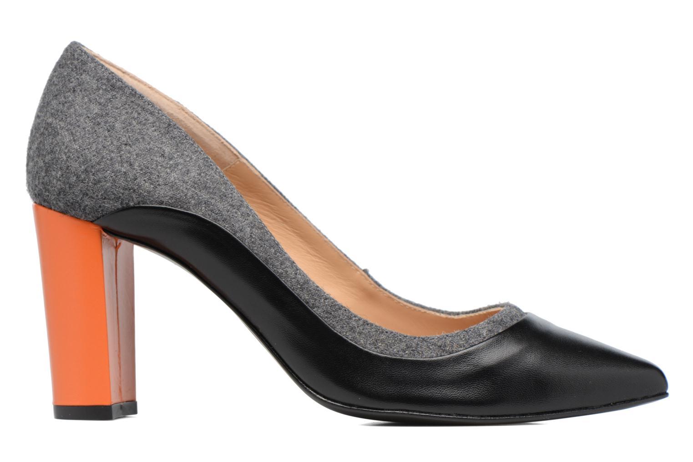 Høje hæle Made by SARENZA Crazy Seventy #3 Sort detaljeret billede af skoene