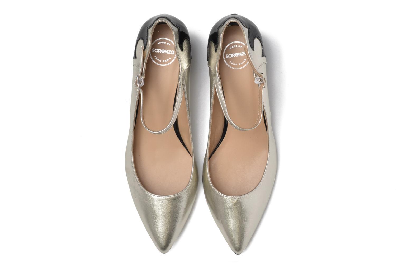 Escarpins Made by SARENZA Rock-a-hula #13 Argent vue portées chaussures