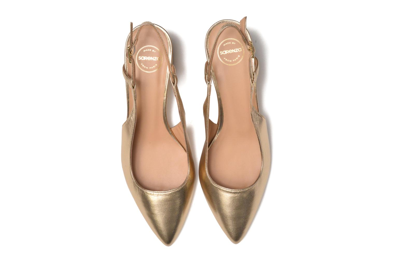 Zapatos de tacón Made by SARENZA Rock-a-hula #12 Oro y bronce vista del modelo