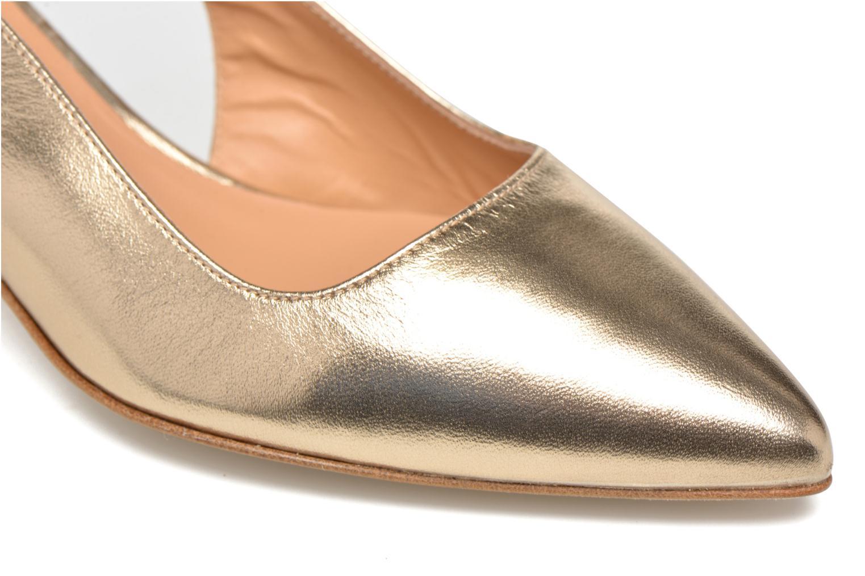 Zapatos de tacón Made by SARENZA Rock-a-hula #12 Oro y bronce vista lateral izquierda