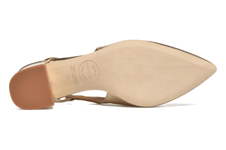 Zapatos de tacón Made by SARENZA Rock-a-hula #12 Oro y bronce vista de arriba
