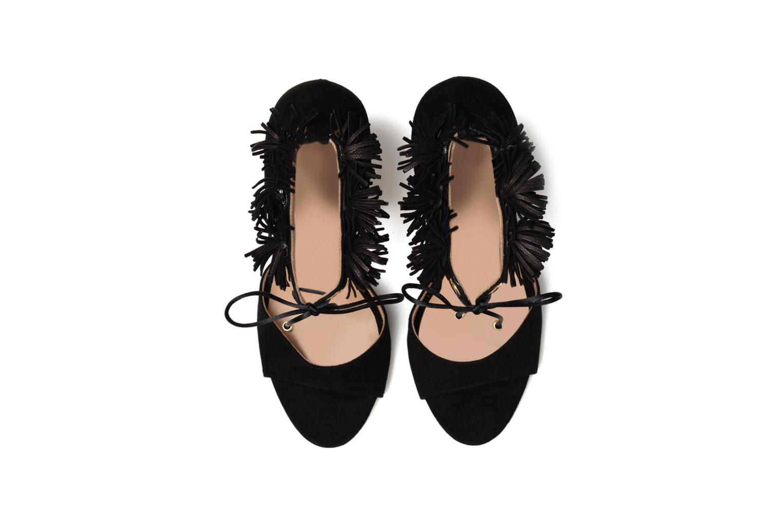 Sandales et nu-pieds Made by SARENZA Frida Banana #6 Noir vue portées chaussures