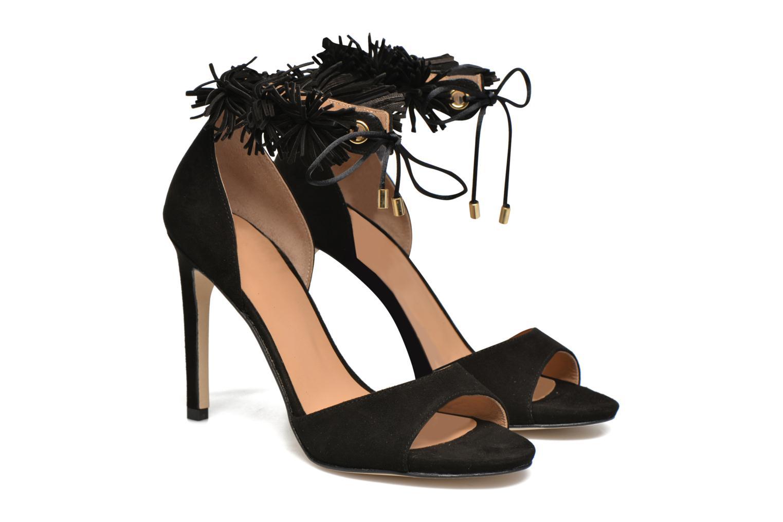 Sandales et nu-pieds Made by SARENZA Frida Banana #6 Noir vue derrière
