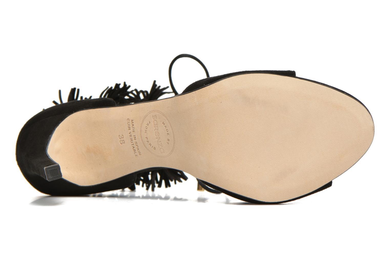 Sandales et nu-pieds Made by SARENZA Frida Banana #6 Noir vue haut