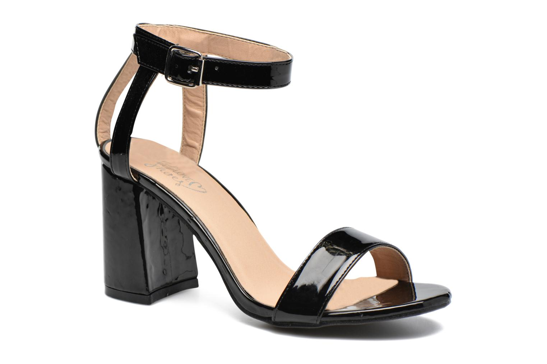 Sandalen I Love Shoes BELYZE Zwart detail