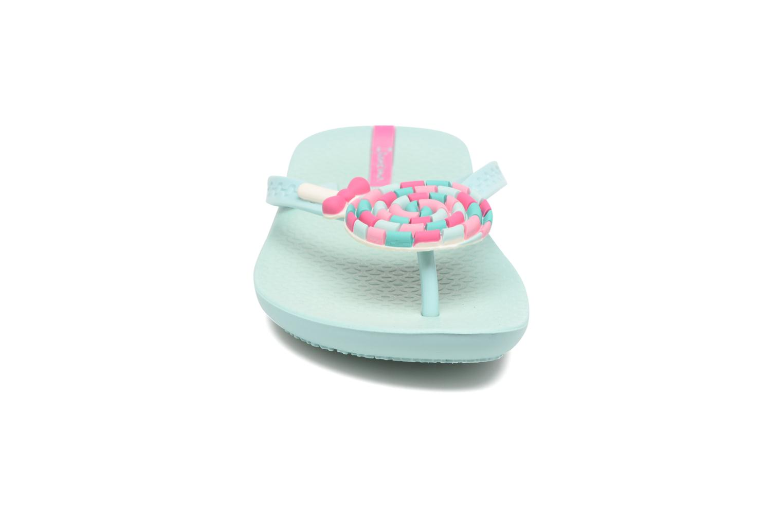 Tongs Ipanema Summer Love Kids II Bleu vue portées chaussures