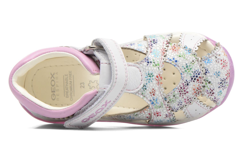Sandales et nu-pieds Geox B Each G. A B720AA Blanc vue gauche