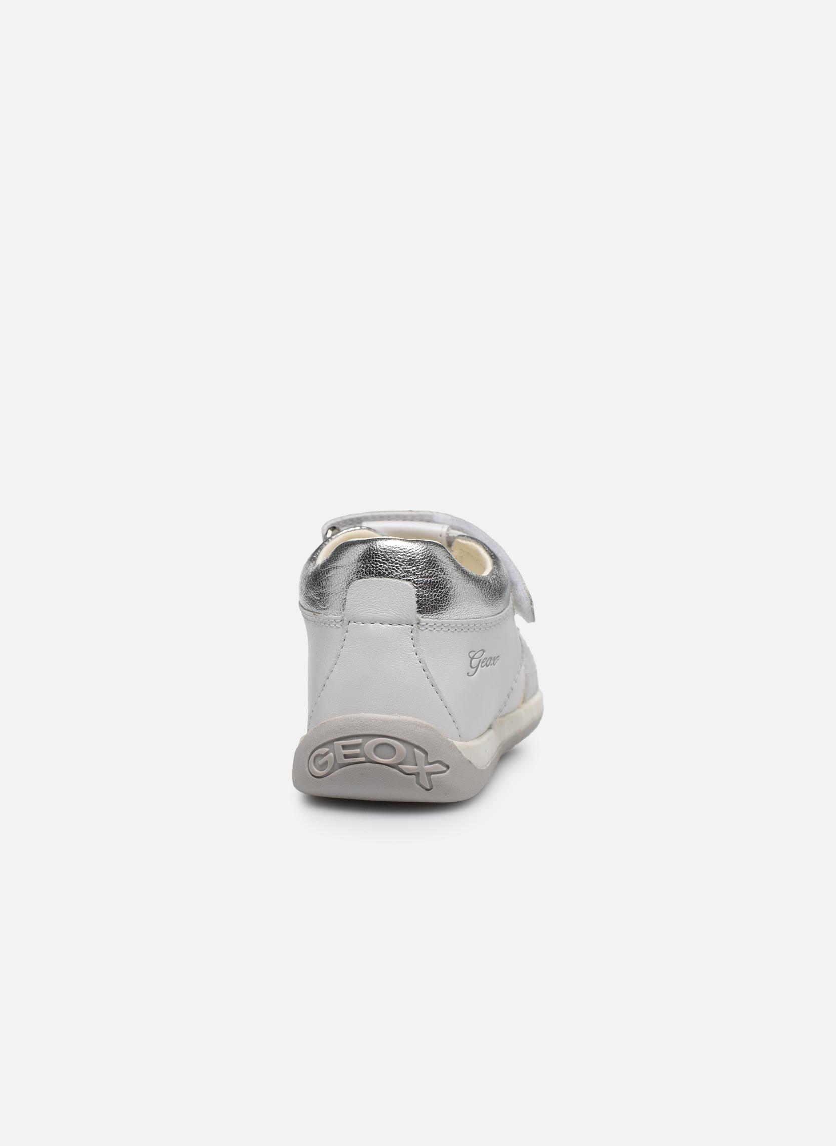 Sandales et nu-pieds Geox B Each G. E B720AE Blanc vue droite