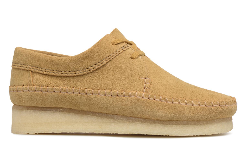 Zapatos con cordones Clarks Originals Weaver W Marrón vistra trasera