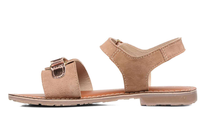 Sandali e scarpe aperte L'Atelier Tropézien Clémence Marrone immagine frontale