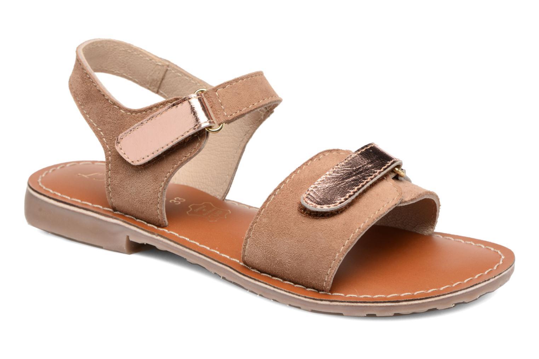Sandaler L'Atelier Tropézien Clémence Brun detaljeret billede af skoene